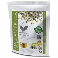 Amla /green gooseberry/ Nelli 30 Herbal Tea Bags blend FBOPF Black tea