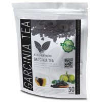 Garcinia cambogia / Goraka 30 Herbal Tea Bags with CEYLON Premium Black Tea