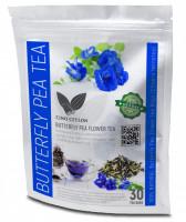 Butterfly pea flowers (Clitoria ternatea) 30 Sachets Full of antioxidants