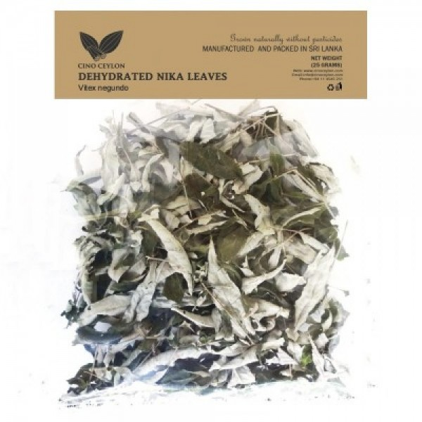 Dehydrated Nika Leaves (Vitex negundo)